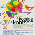 Kooride kontsert 5. aprillil 2015